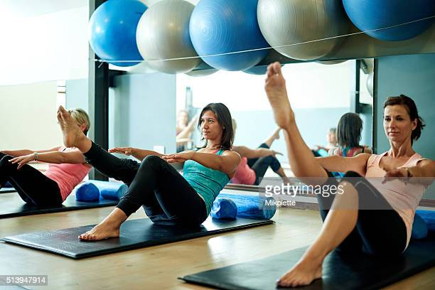 Fine tune your core with pilates