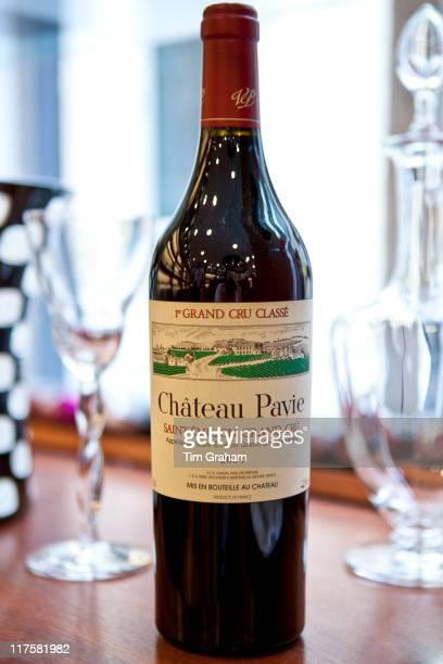 Fine wine Chateau Pavie 1er Grand Cru Classe 2006 vintage in Vignobles et Chateaux shop in St Emilion Bordeaux France
