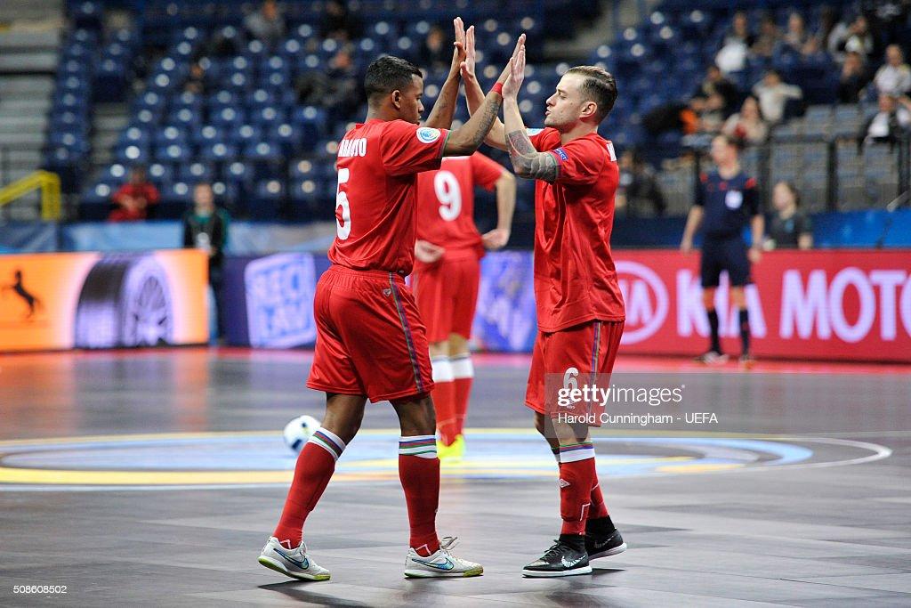 Azerbaijan v Czech Republic: Futsal EURO 2016