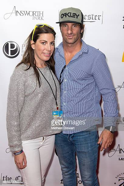Fingerprint Communications President/Founder Jessica Meisels and race car driver Matt Halliday attend Paige Hospitality Group's Third Annual Sundance...