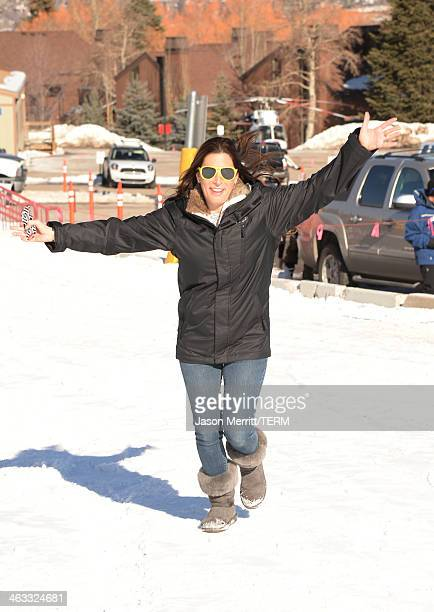 Fingerprint Communications President/Founder Jessica Meisels attends Oakley Learn to Ride with AOL at Sundance on January 17 2014 in Park City Utah