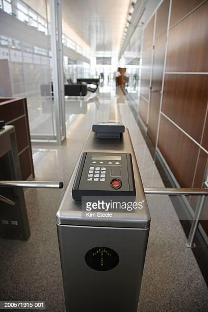Fingerprint scanning security device, Buenos Aires, Argentina