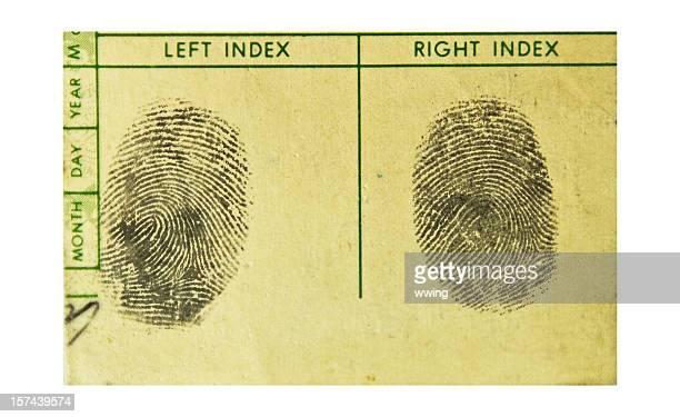 Fingerprints. echten!