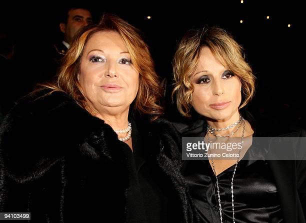 Fininvest and Arnoldo Mondadori Editore President Marina Berlusconi and her mother Carla Elvira Lucia Dall'Oglio attend the Ambrogino D'Oro 2009 on...