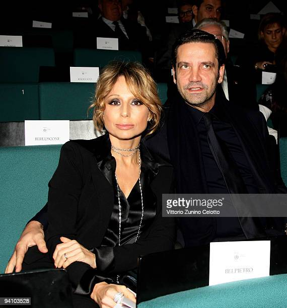 Fininvest and Arnoldo Mondadori Editore President Marina Berlusconi and her husband Maurizio Vanadia attend the Ambrogino D'Oro 2009 on December 7...