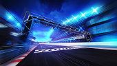 racing sport digital background illustration