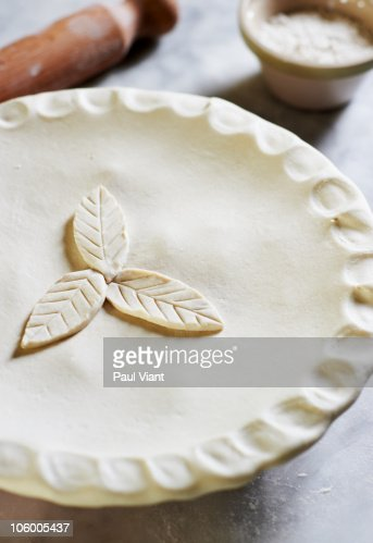 finished apple pie : Stock Photo