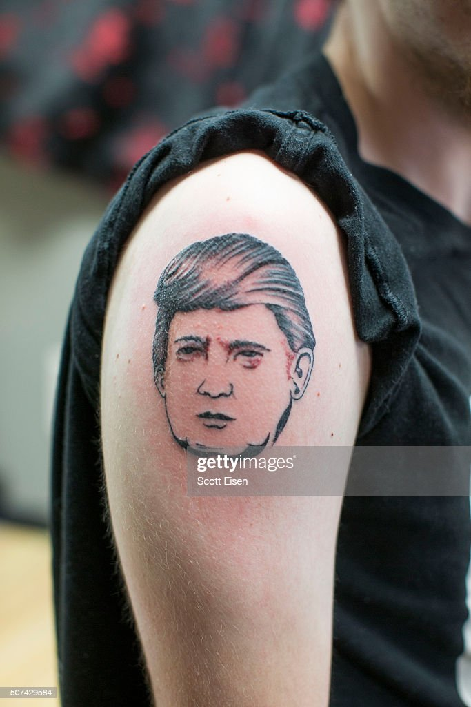 New hampshire tattoo shop offers free donald trump tattoos for New hampshire tattoos