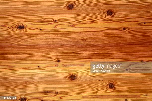 Finished wood flooring or ceiling