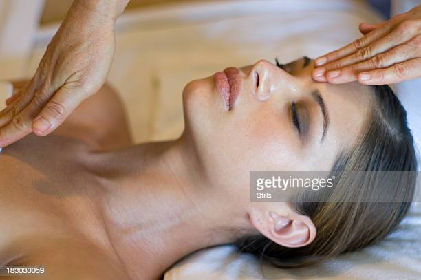 Abschluss der massage