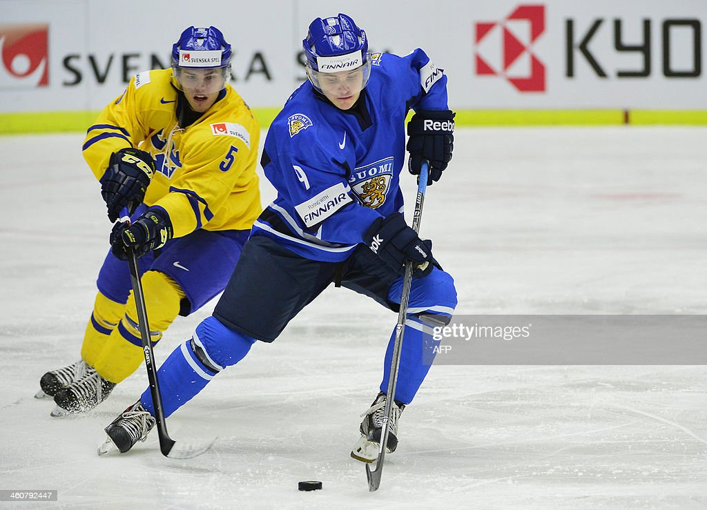 Honka won World Junior gold with Finland over fierce rivals Sweden in 2014 (GettyImages)