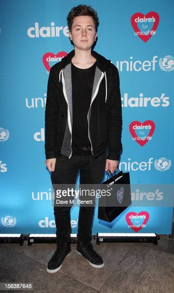 Finlay Kemp arrives at a party celebrating the partnership between international fashion retailer Claire's and the world's leading children's...