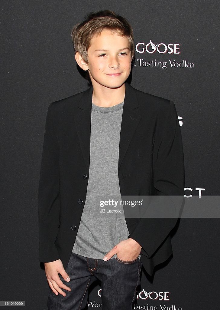Finley Jacobsen attends the 'Olympus Has Fallen' Los Angeles Premiere held at ArcLight Cinemas Cinerama Dome on March 18, 2013 in Hollywood, California.