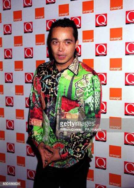 Finley Quaye at the Park Lane Hotel central London for the Q Awards The event sponsored by music magazine Q is one of the highlights of the music...