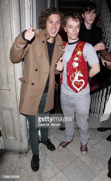 Finn Jones and Alfie Allen attend the Cuckoo Club and Show Pony pop up club celebrating Cuckoo's 7th birthday at 6 Grosvenor Place on November 24...