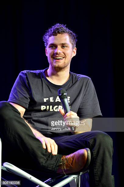 Finn Jones attend Magic City Comic Con at Miami Airport Convention Center on January 15 2016 in Miami Florida