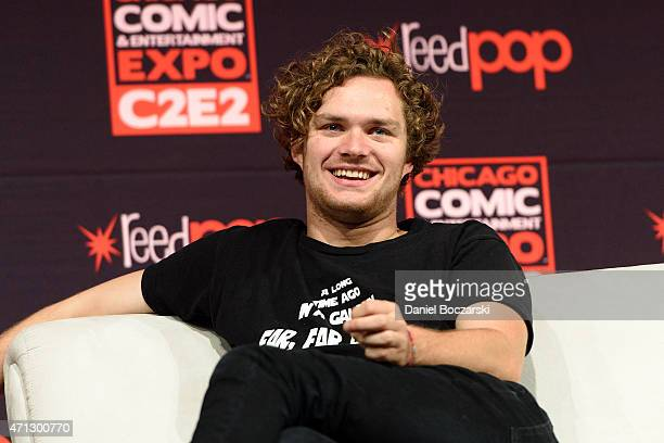 Finn Jones attends C2E2 Chicago Comics and Entertainment Expo at McCormick Place on April 26 2015 in Chicago Illinois