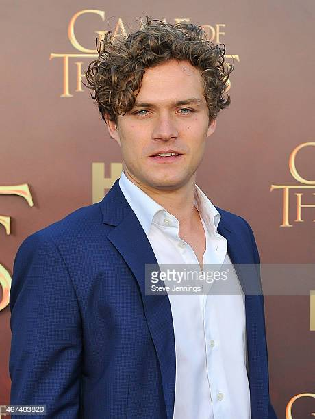 Finn Jones attends HBO's 'Game Of Thrones' Season 5 San Francisco Premiere at San Francisco Opera House on March 23 2015 in San Francisco California