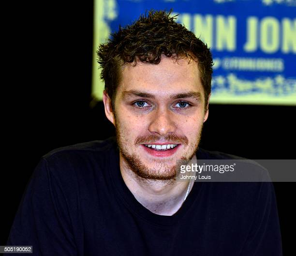 Finn Jones attends Magic City Comic Con at Miami Airport Convention Center on January 15 2016 in Miami Florida