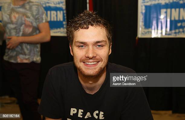 Finn Jones attends Magic City Comic Con on January 15 2016 in Miami Florida