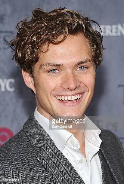 Finn Jones attends the 'Game Of Thrones' Season 4 premiere at Avery Fisher Hall Lincoln Center on March 18 2014 in New York City
