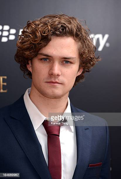 Finn Jones attends the season launch of 'Game of Thrones' at One Marylebone on March 26 2013 in London England