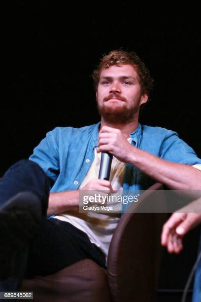Finn Jones lead actor of 'Marvel's Iron Fist' and 'The Defenders' also known for his role on 'Game of Thrones' participates in Puerto Rico Comic Con...