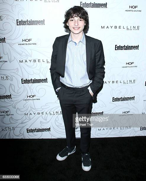 Finn Wolfhard arrives at the Entertainment Weekly hosts celebration honoring nominees for The Screen Actors Guild Awards held at Chateau Marmont on...