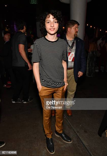 Finn Wolfhard at Entertainment Weekly's annual ComicCon party in celebration of ComicCon 2017 at Float at Hard Rock Hotel San Diego on July 22 2017...