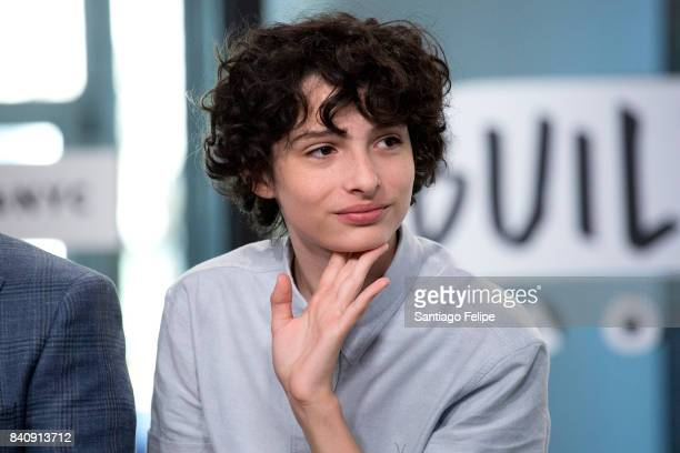 Finn Wolfhard attends Build Presents to dicuss the film 'IT' at Build Studio on August 30 2017 in New York City