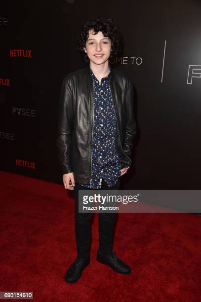 Finn Wolfhard attends Netflix's 'Stranger Things' For Your Consideration event at Netflix FYSee Space on June 6 2017 in Beverly Hills California