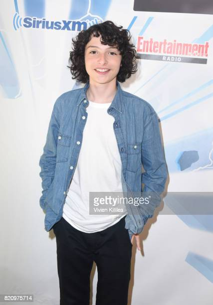 Finn Wolfhard attends SiriusXM's Entertainment Weekly Radio Channel Broadcasts From Comic Con 2017 at Hard Rock Hotel San Diego on July 22 2017 in...