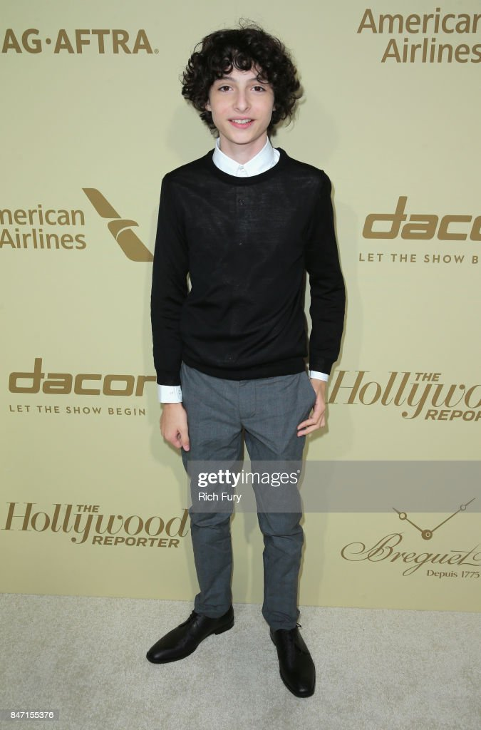 Finn Wolfhard attends The Hollywood Reporter and SAG-AFTRA Inaugural Emmy Nominees Night presented by American Airlines, Breguet, and Dacor at the Waldorf Astoria Beverly Hills on September 14, 2017 in Beverly Hills, California.