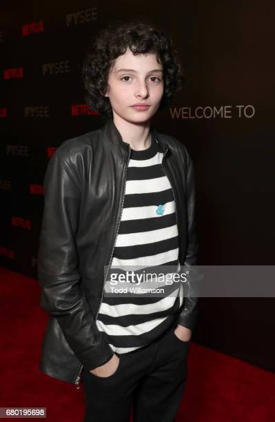 Finn Wolfhard attends the Netflix FYSEE KickOff Event at Netflix FYSee Space on May 7 2017 in Beverly Hills California