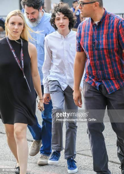 Finn Wolfhard is seen on July 19 2017 in San Diego California