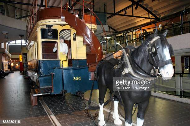 Fintona Horse drawn tram at the Ulster Transport museum