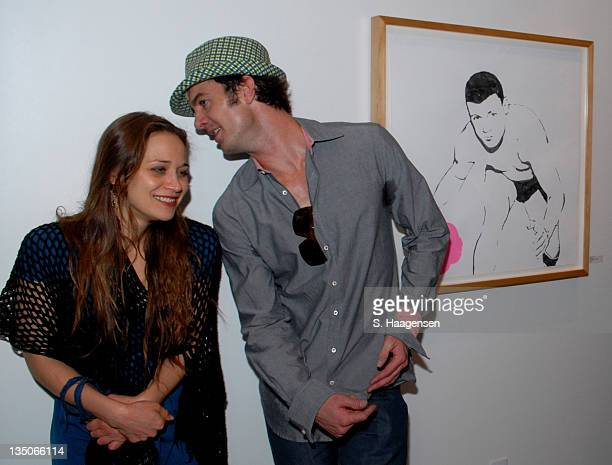 Fiona Apple and Garrett Dutton of G Love during Grey Goose Entertainment and Sundance Channel in Association with Conde Nast Media Group Celebrate...