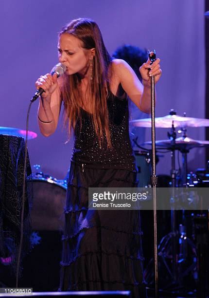 Fiona Apple during Fiona Apple in Concert at The Joint at The Hard Rock Hotel and Casino Resort June 19 2006 at The Joint at The Hard Rock Hotel and...