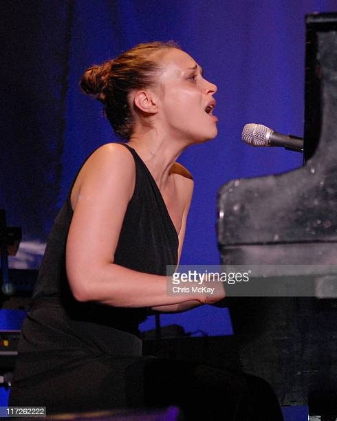 Fiona Apple during Fiona Apple in Concert August 2 2006 at Chastain Park Amphitheatre in Atlanta Georgia United States