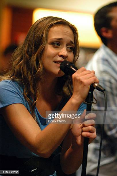 Fiona Apple during Fiona Apple InStore Performance at Virgin Megastore in New York City September 20 2005 at Virgin Megastore Union Square in New...