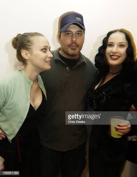 Fiona Apple Lionel Deluy and Dita Von Teese during The Book LA presents Lionel Deluy Portraits of Dita Von Teese at Farmani Gallery in Beverly Hills...
