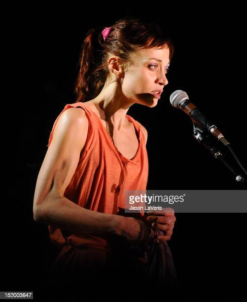 Fiona Apple performs at The Greek Theatre on September 14 2012 in Los Angeles California
