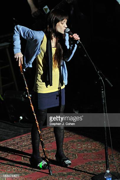 Fiona Apple performs at The Louisville Palace Theatre on October 5 2012 in Louisville Kentucky