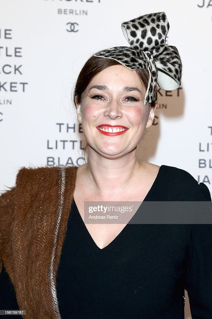 Fiona Bennett attends CHANEL 'The Little Black Jacket' - Exhibition Opening by Karl Lagerfeld and Carine Roitfeld on November 20, 2012 in Berlin, Germany.