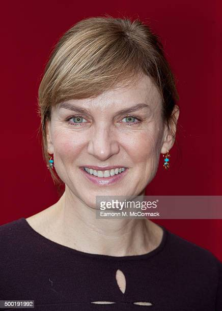 Fiona Bruce attends a performance of Matthew Bourne's 'Sleeping Beauty' at Sadler's Wells Theatre on December 6 2015 in London England
