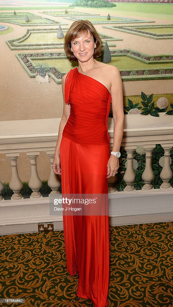 Fiona Bruce attends Gary Barlow Hosts BBC Children In Need Gala at The Grosvenor House Hotel on November 11, 2013 in London, England.