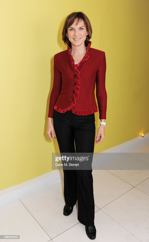 Fiona Bruce attends the English National Ballet Christmas Party at St Martins Lane Hotel on December 13, 2012 in London, England.
