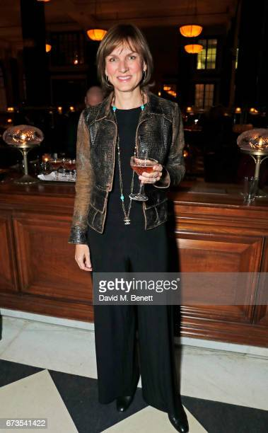 Fiona Bruce attends the launch of The Ned London on April 26 2017 in London England