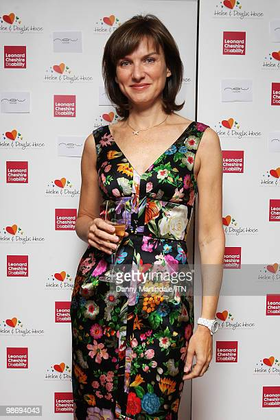 LONDON ENGLAND SEPTEMBER 24 Fiona Bruce attends the 'Newsrooms Got Talent' event held in aid of Leonard Cheshire Disability and Helen Douglas House...