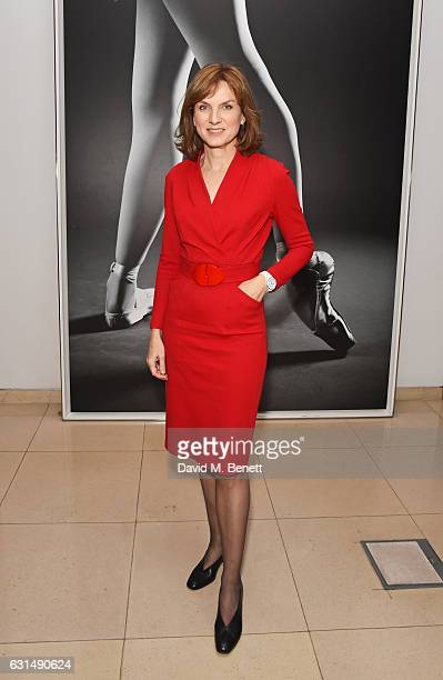 Fiona Bruce attends the opening night reception of the English National Ballet's production of 'Giselle' hosted by St Martins Lane on January 11 2017...
